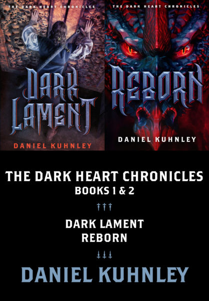 Cover art for Daniel Kuhnley's The Dark Heart Chronicles Collection eBook - https://danielkuhnley.com